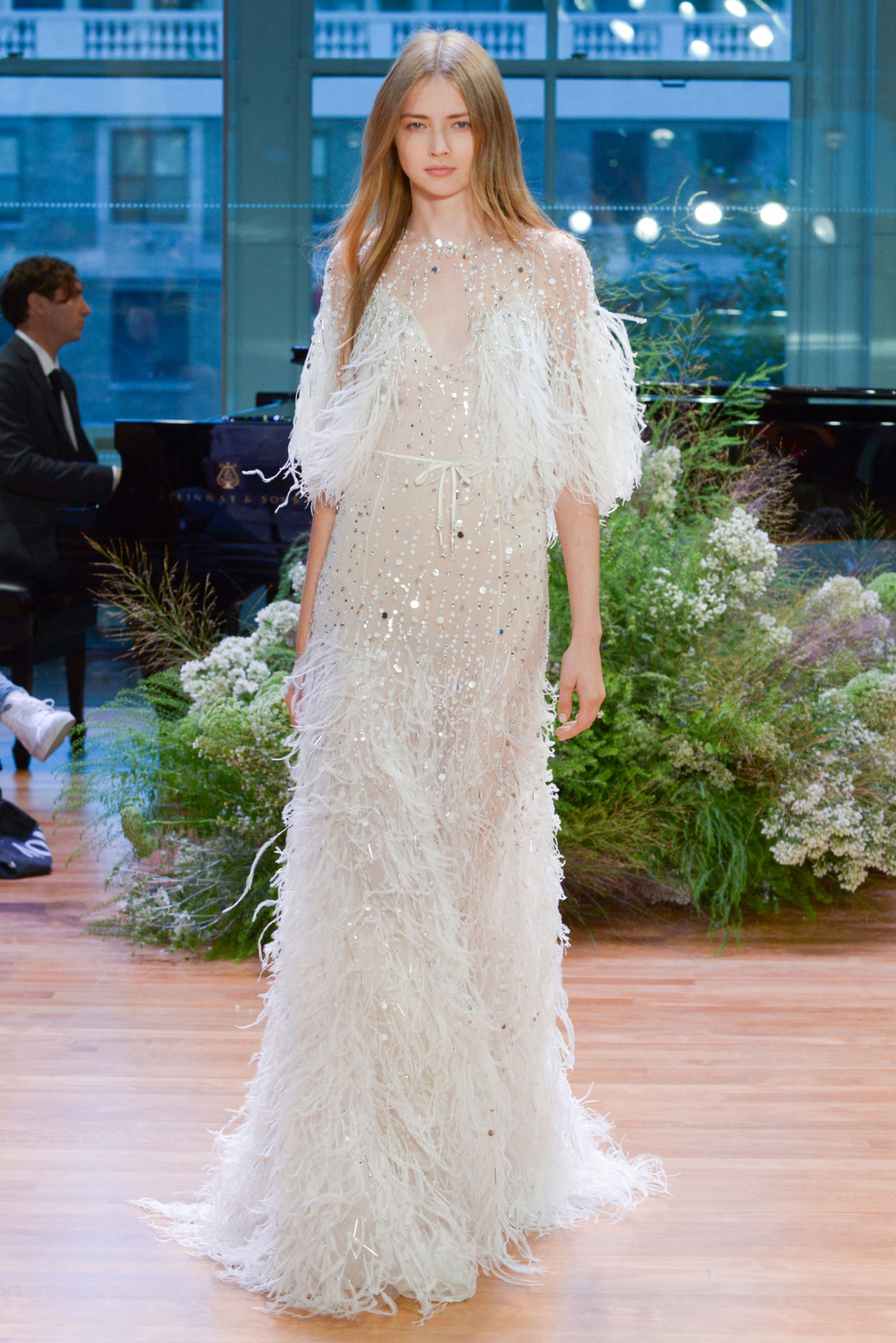 Our favorite dresses from Bridal Fashion Week – Fall 2017 - Green ...