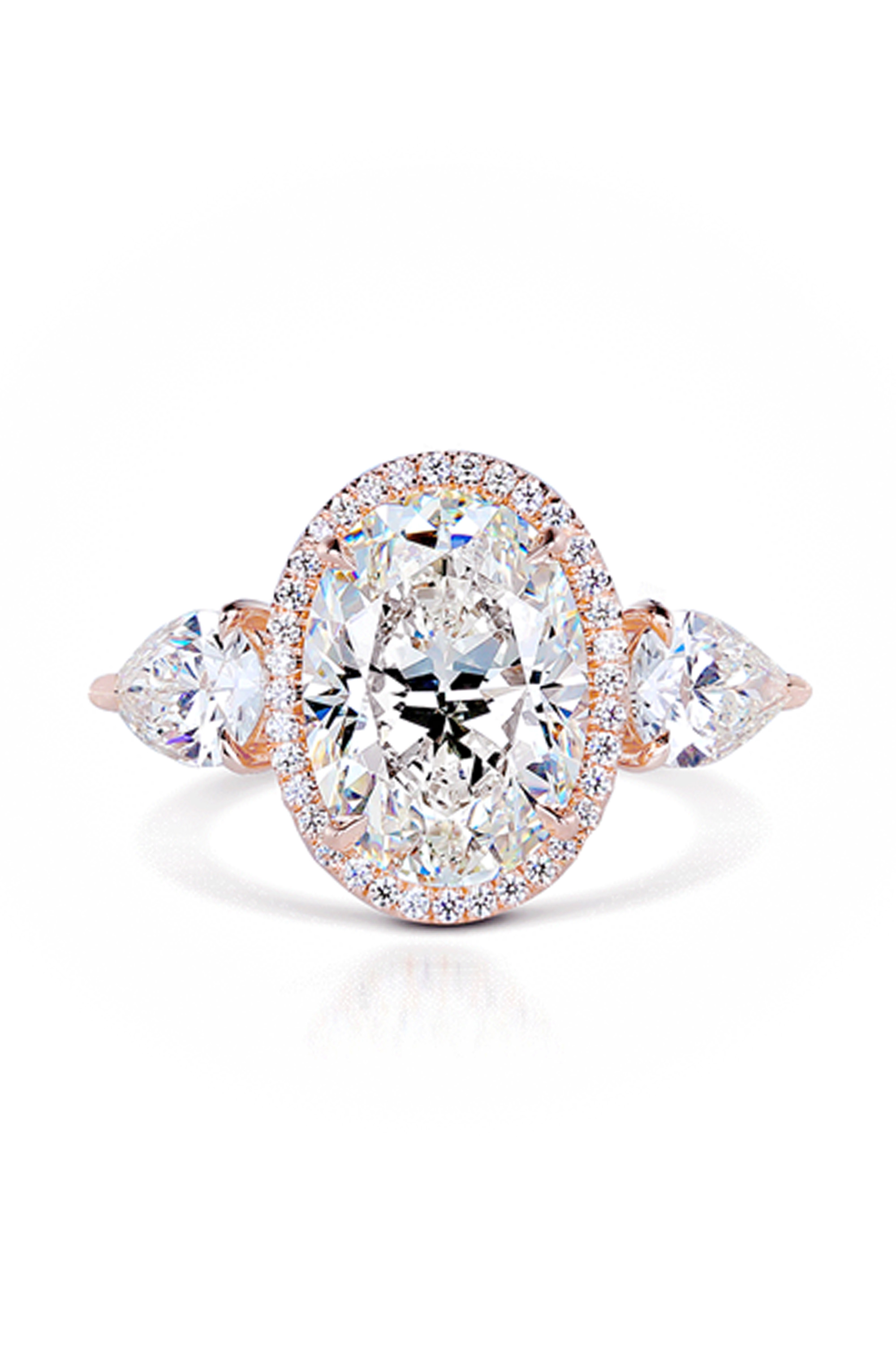 rose gold engagement rings cheap pandora rings