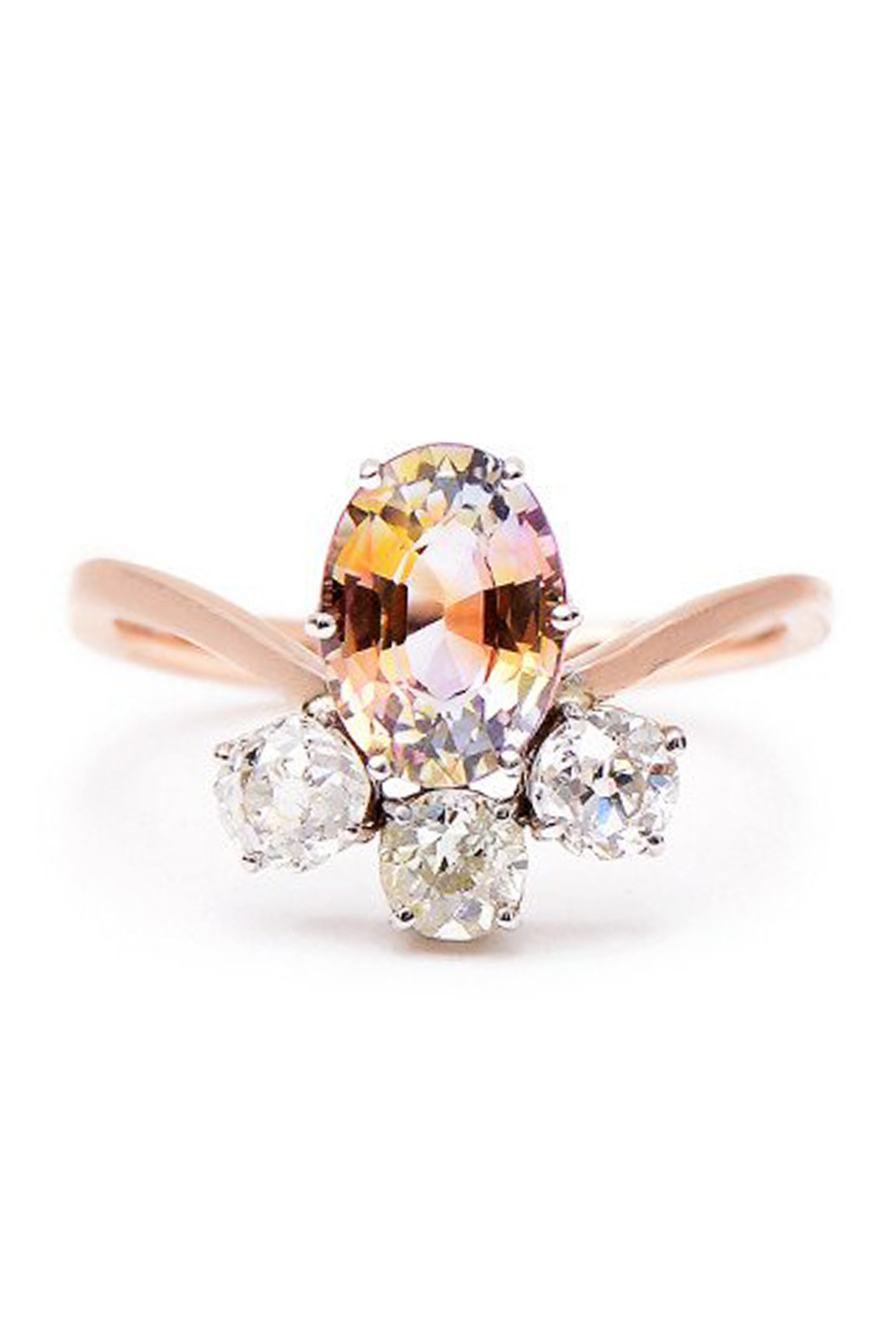 27 Unique Engagement Rings Beautiful Non Diamond and Unusual Engagement Rings