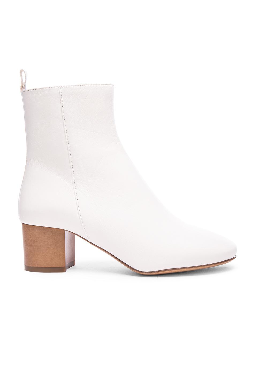 isabel marant white boots