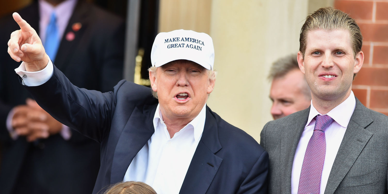 Eric Trump Voting Selfie - Donald Trump's Son Takes ...