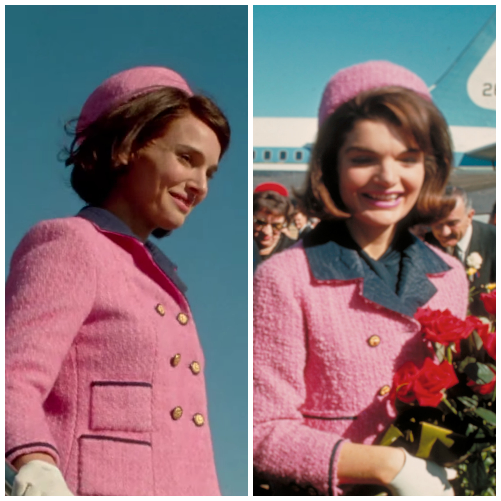 See the actors in 39 jackie 39 vs the real life kennedys for Jackie kennedy movie