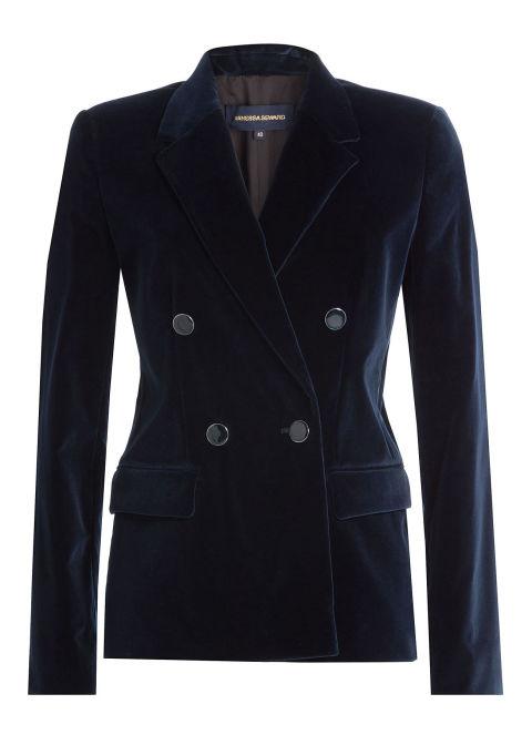 Vanessa Seward Velvet Blazer, $519; stylebop.com