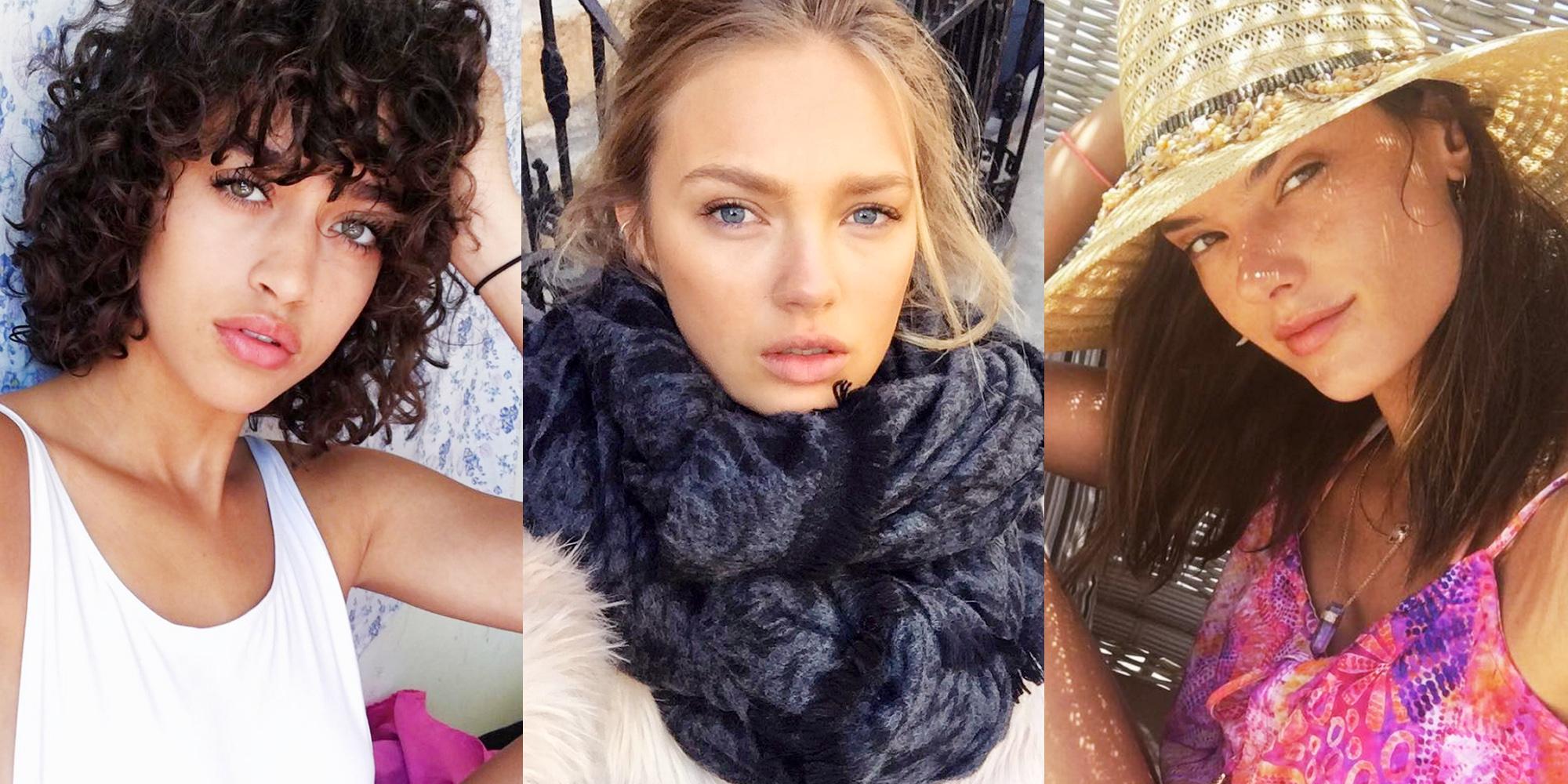 15 Victoria's Secret Models Without Makeup - VS Angels ...