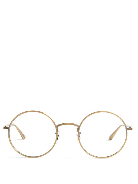 The Row x Oliver Peoples After Midnight Glasses, $414; matchesfashion.com