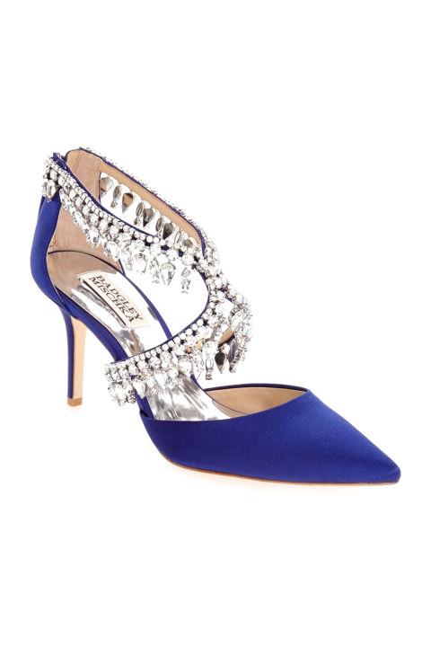 badgley mischka glamour crystal embellished pointy toe pump 255 nordstromcom