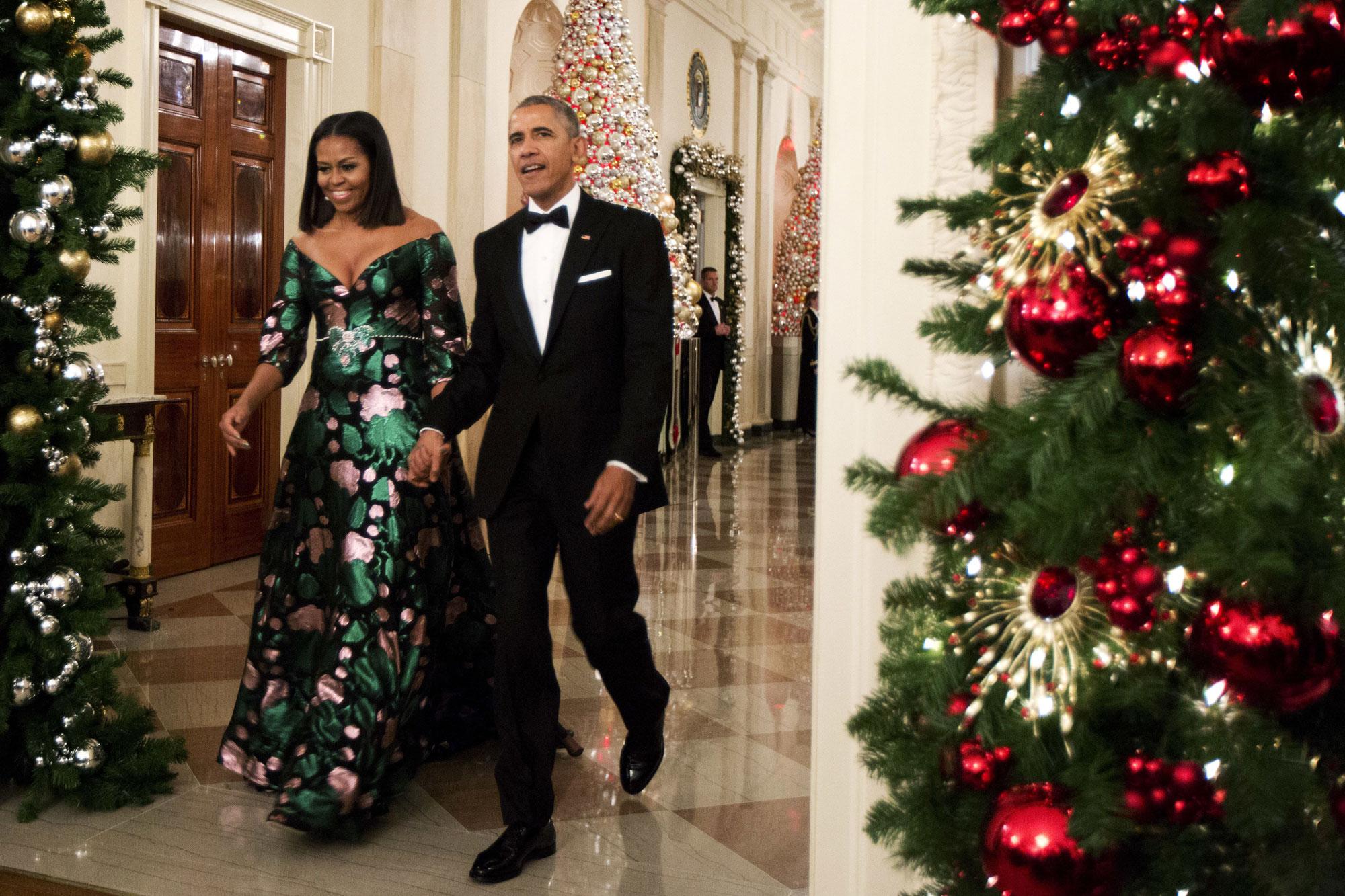 Elle Michelle Obama Gucci Shutterstock