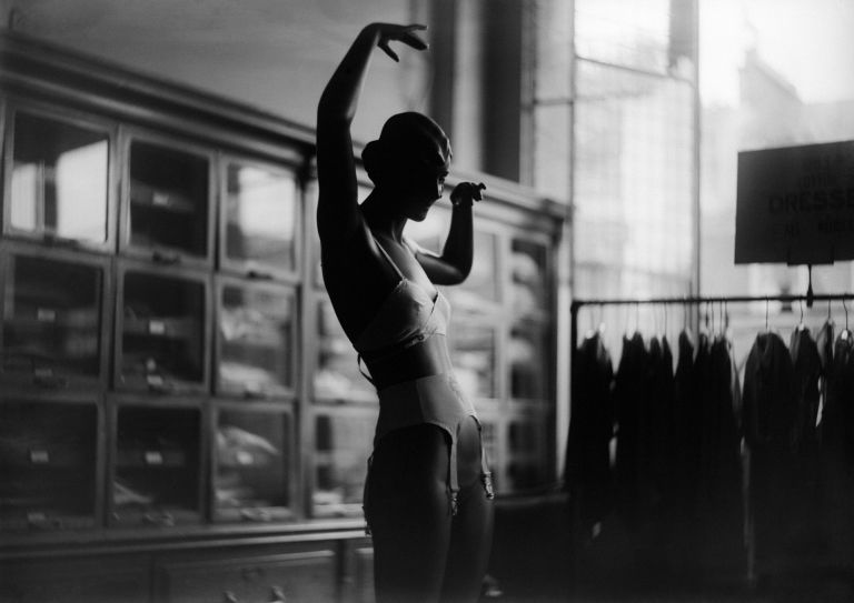 mannequin with bra
