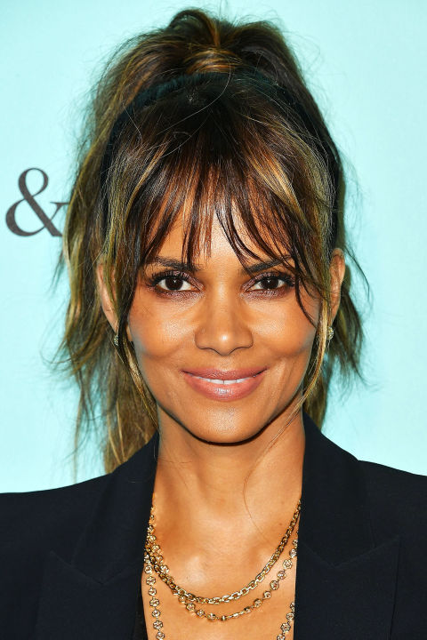 Enjoyable 100 Hairstyles With Bangs You39Ll Want To Copy Celebrity Haircuts Short Hairstyles For Black Women Fulllsitofus