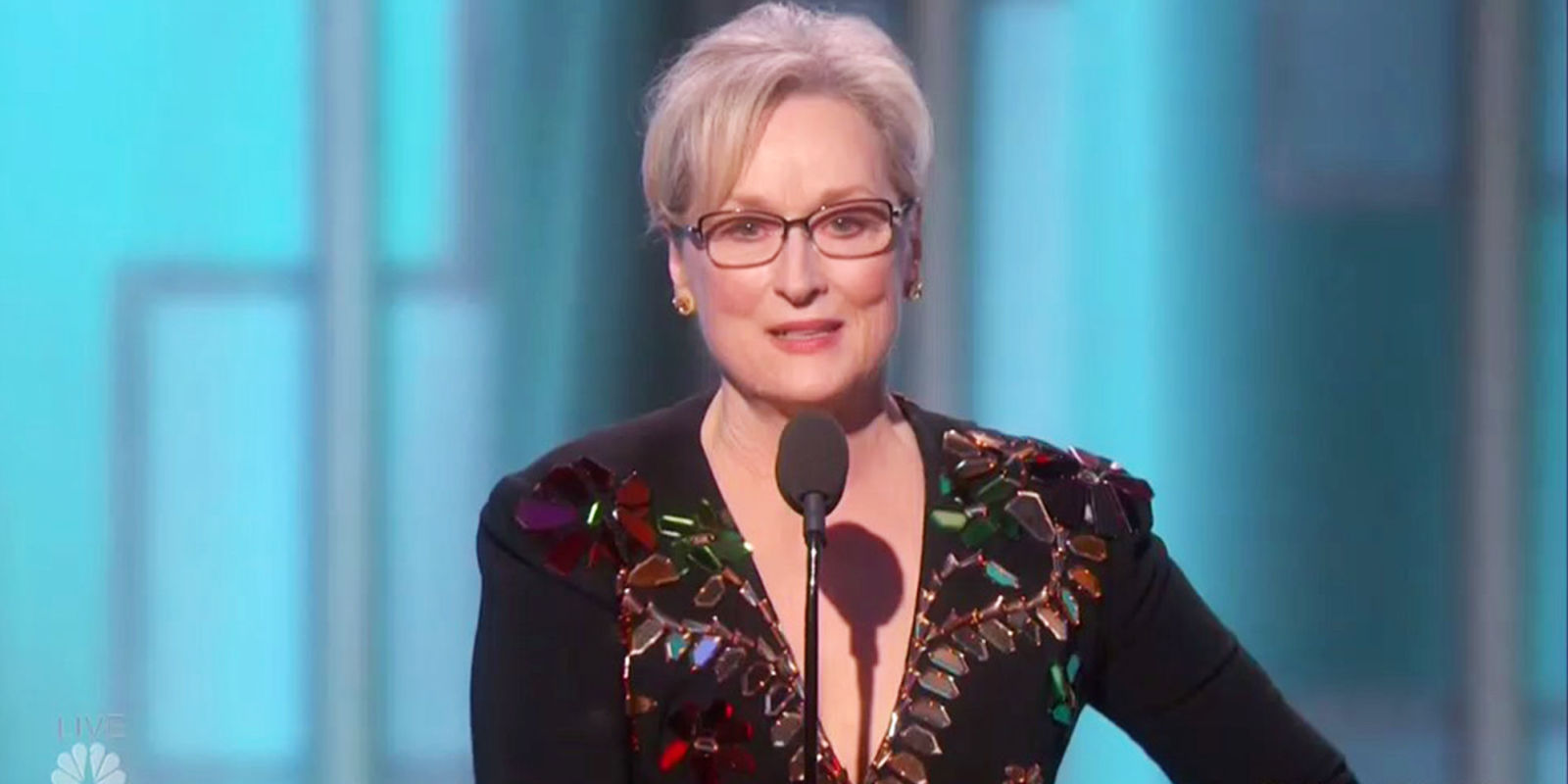 Meryl Streep Talks Donald Trump at the Golden Globes