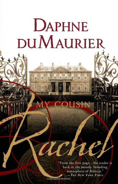 Daphne du Maurier Rachel book cover suitcase savvy