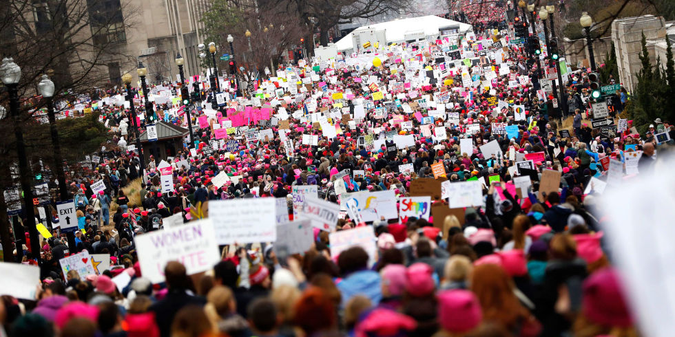 Image result for women's March wash DC
