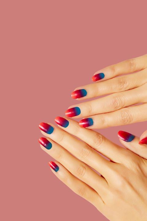Znalezione obrazy dla zapytania summer manicure 2017