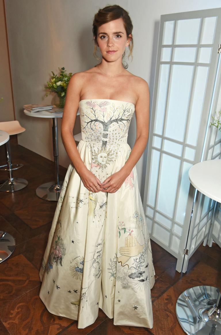 White dress emma watson - Getty