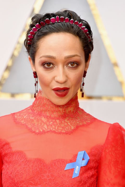 Best Oscars Hairstyles And Makeup Looks 2017 Red Carpet