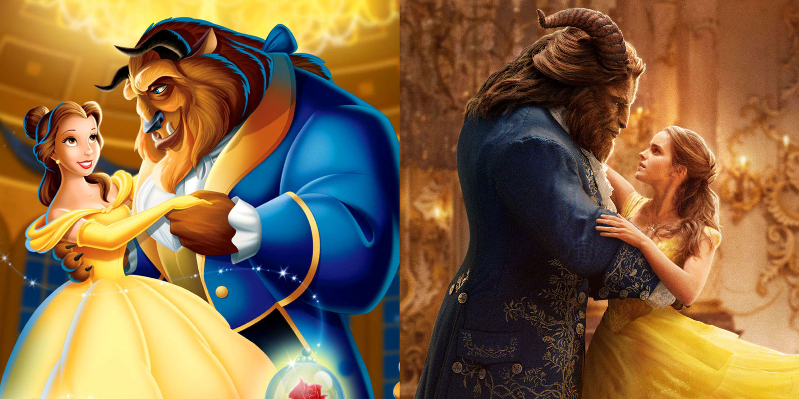 21 Biggest Differences In New Beauty And The Beast  How Does New Beauty  And The Beastpare To Original