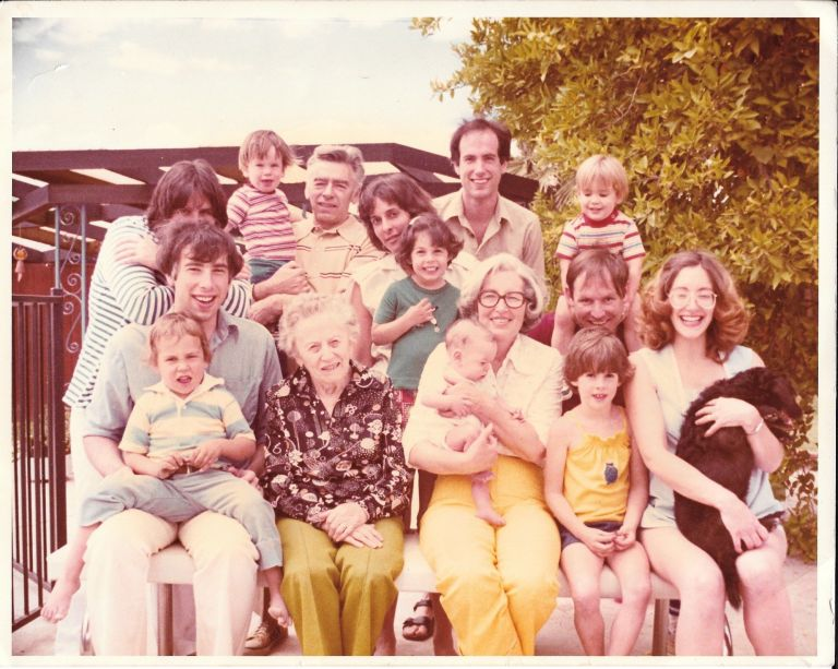 linder family, c. 1978