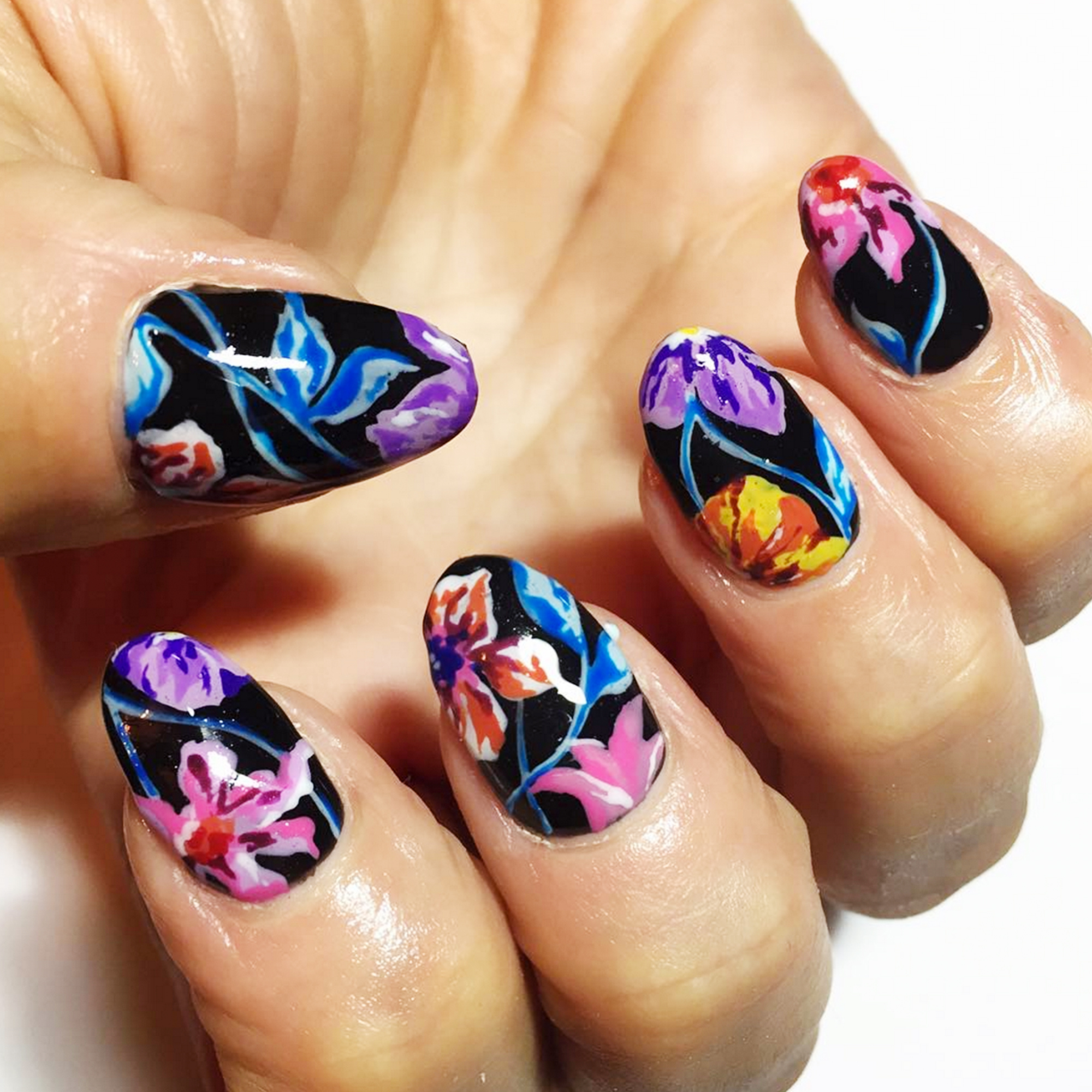 15 Cool Nail Art Designs: 12 Cool Summer Nail Art Designs