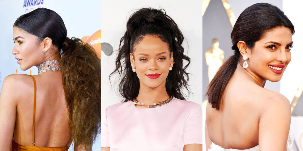 Swell 23 Cute Ponytail Hairstyles Best Celebrity Ponytails Of 2017 Elle Hairstyle Inspiration Daily Dogsangcom
