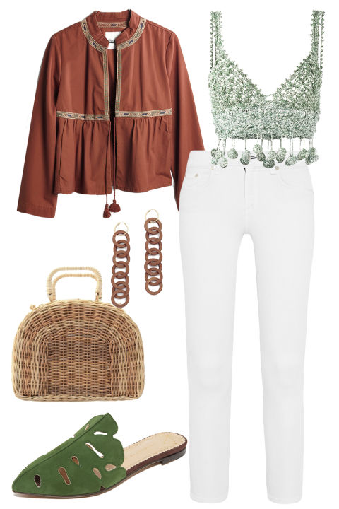 How To Wear White Jeans All 2017 Long - How to Wear White Denim ...