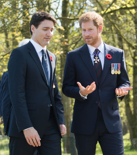 Justin Trudeau And Prince Harry In One Place Is Too Much