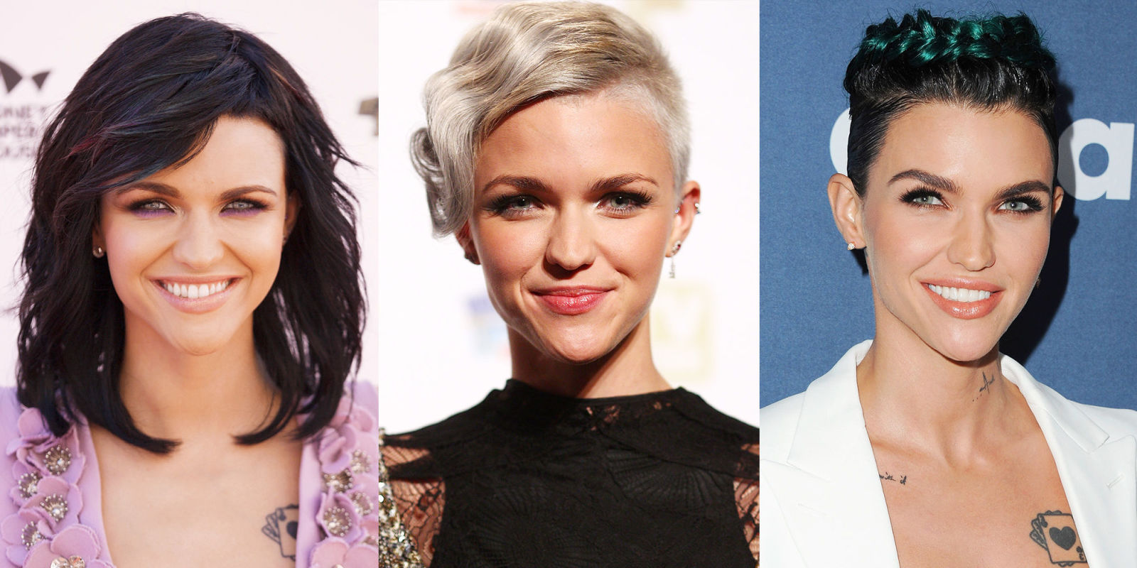 Ruby Rose Celebrity Hair Changes Really: Ruby Rose Best Beauty Looks