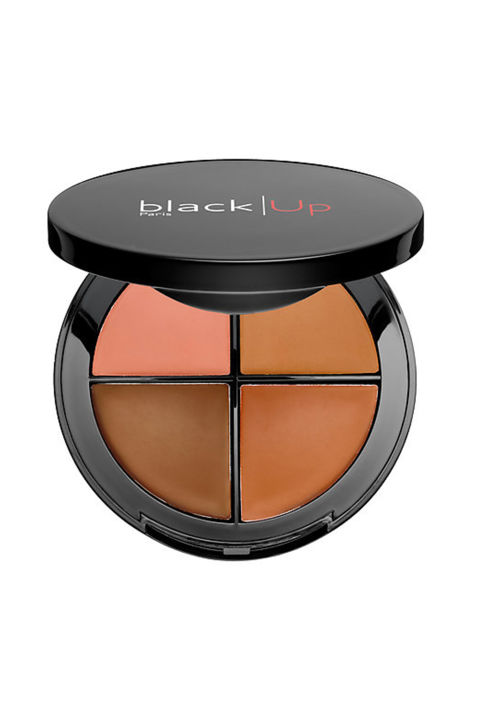 It can be frustrating to find makeup that matches but this trio of concealer palettes was designed with melanin in mind. A quartet of cover-ups letsyou brighten, neutralize and contour.$30, blackupcosmetics.com