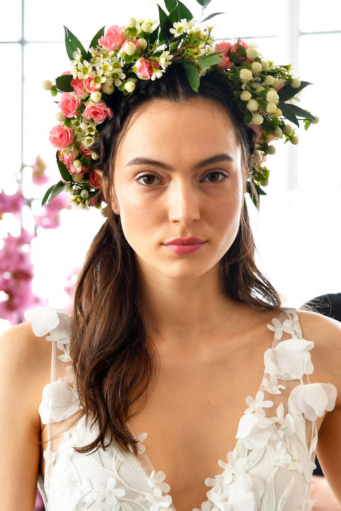 What's a woodland nymph without her flower crown (that is absolutely, not at all similar to anything you saw at Coachella)?
