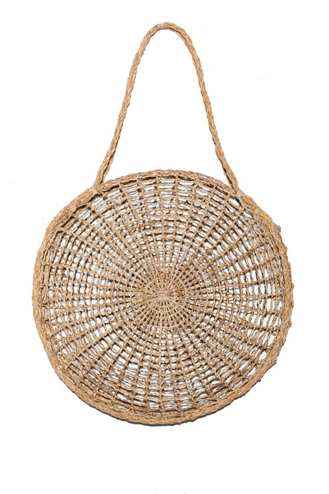 Straw Beach Bags Are Our Current Summer Obsession