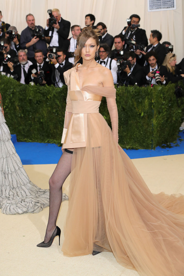 Image result for gigi met gala