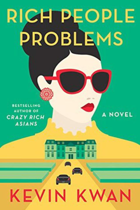 rich people problems by Kevin Kwan image of book cover