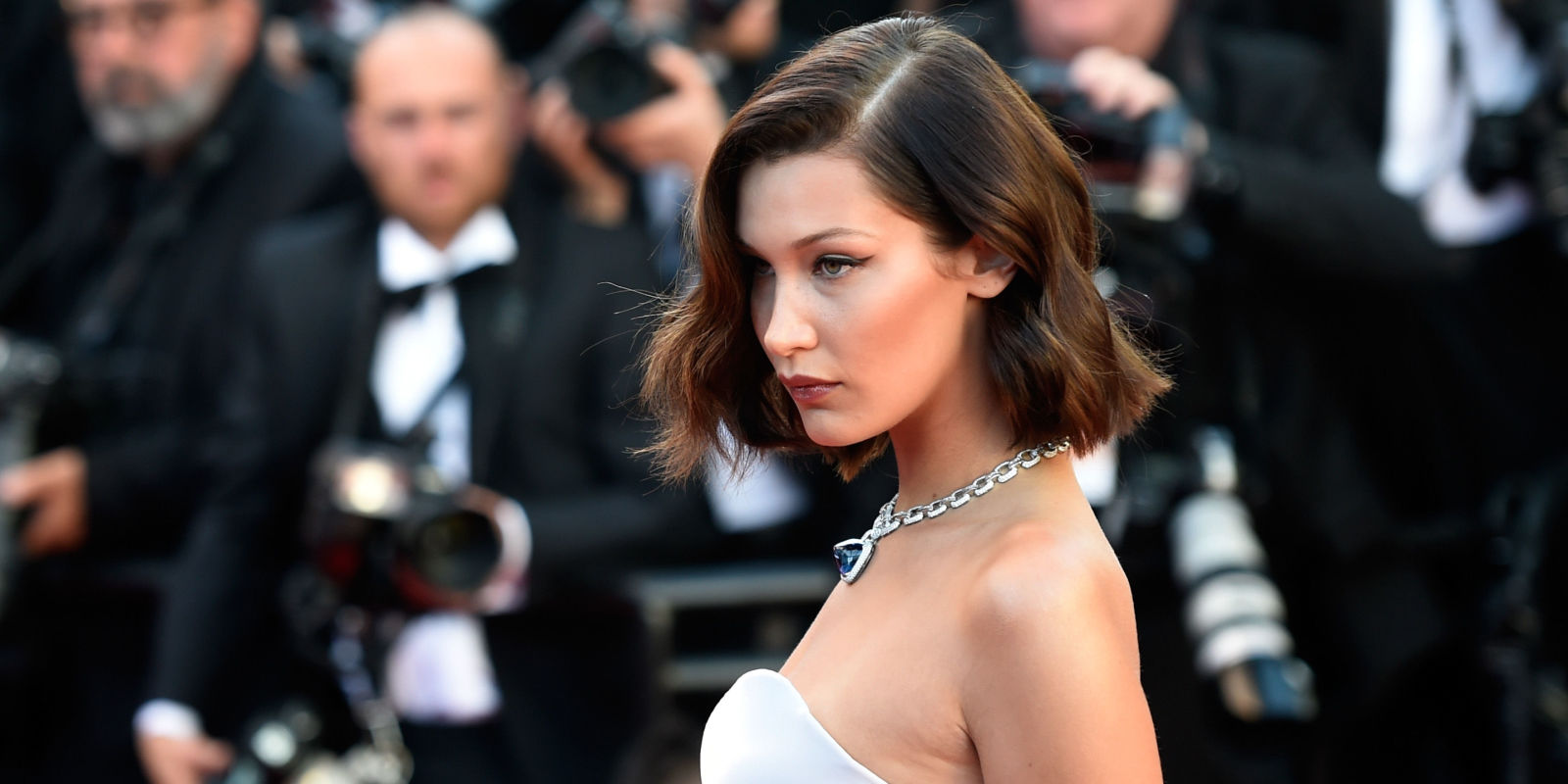 Bella Hadid Is Not Afraid of Any Wardrobe Malfunction