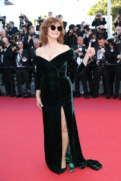 At theIsmael's Ghosts (Les Fantomes d'Ismael)screening and Opening Galaon May 17th,day 1 of the Cannes Film Festival.