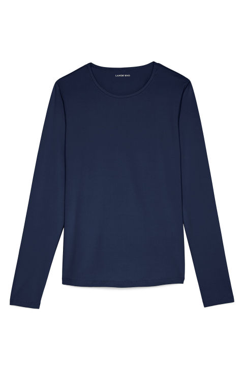 A thin rash guard doesn't take up much space in your bag and proves invaluable should you need a break from the rays.Lands' End Swim Tee, $35; landsend.com
