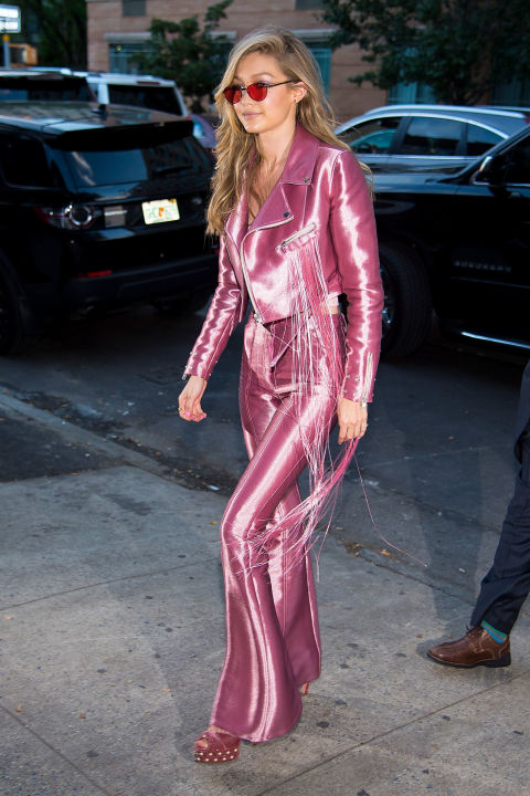 Gigi Hadid Channels Lizzie Mcguire Fashion