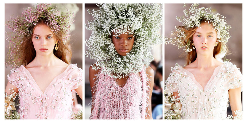 Rodarte's Spring 2018 Collection Flower Crowns