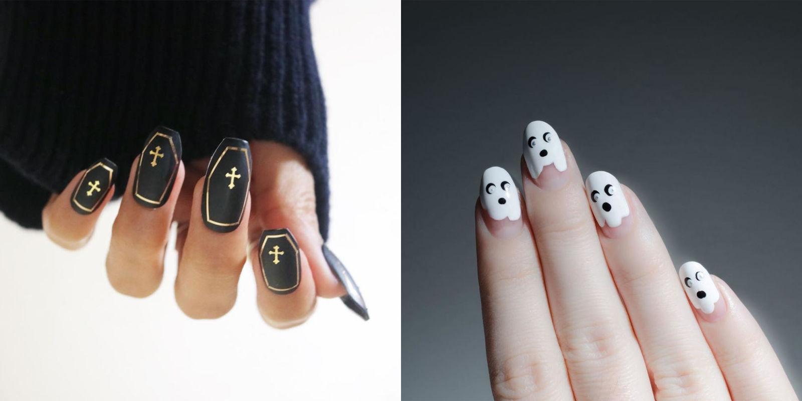13 Halloween Nail Art Ideas for 2017 - Cute Nail Designs for ...