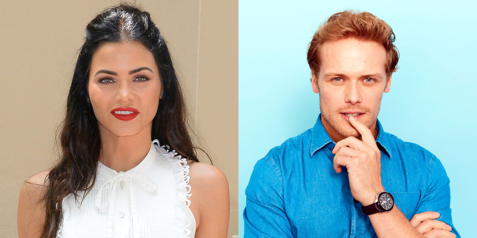Jenna Dewan Tatum and Sam Heughan Just Danced Together at Comic-Con