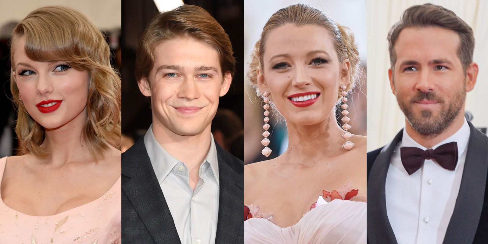 Taylor Swift and Joe Alwyn Reportedly Had Your Dream Double Date With Blake Lively and Ryan Reynolds