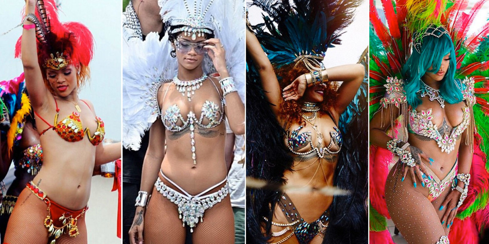 A Comprehensive History of Rihanna's Carnival Ensembles