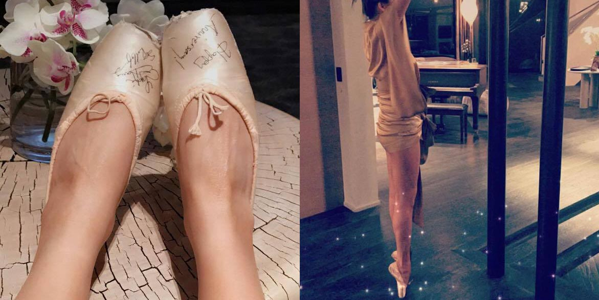 Chrissy Teigen Practiced Her Ballet Skills, and Everyone's Worried About Her Ankles