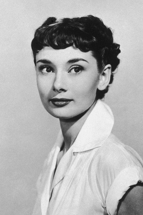 Pixie Cut Audrey Hepburn Audrey hepburn, 1953