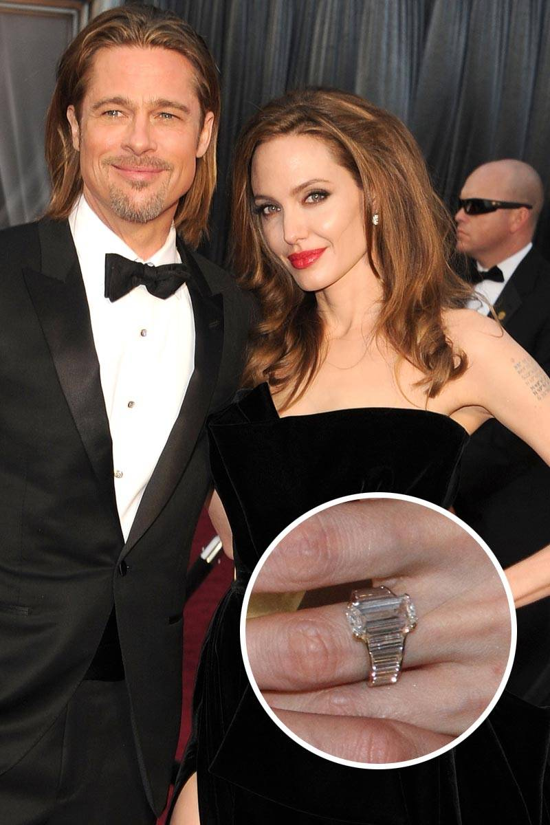 gorgeous celebrity engagement ring and wedding bands best celeb engagement rings - Celebrity Wedding Rings