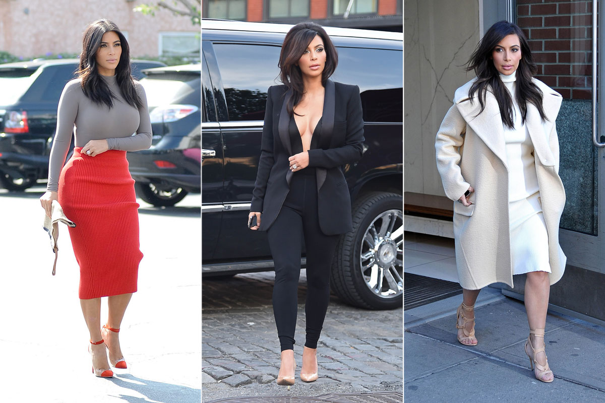 Kim Kardashian Fashion Kim Kardashian 39 S Best 2014 Looks