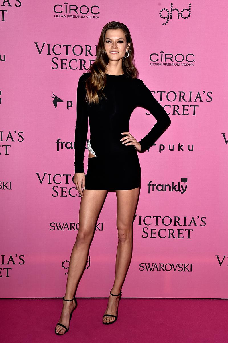 Black dress victoria secret deals