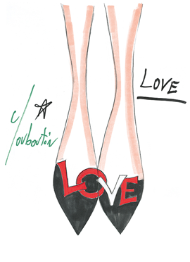 christian louboutin�s never tried on his own shoes