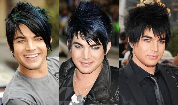Fine Adam Lambert39S Hair And Makeup Short Hairstyles For Black Women Fulllsitofus