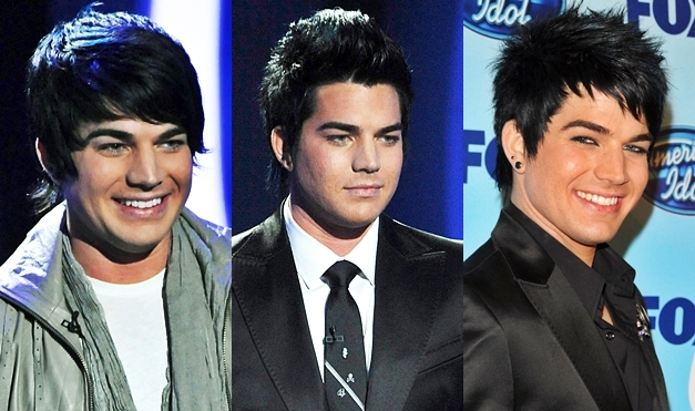 Stupendous Adam Lambert39S Hair And Makeup Short Hairstyles For Black Women Fulllsitofus