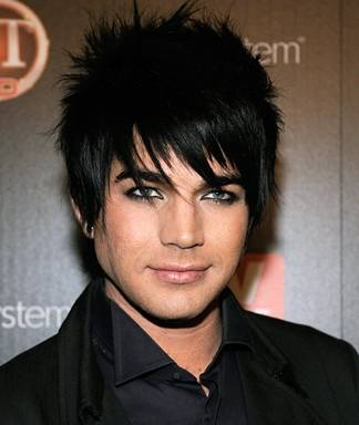 Miraculous Adam Lambert39S Hair And Makeup Short Hairstyles For Black Women Fulllsitofus