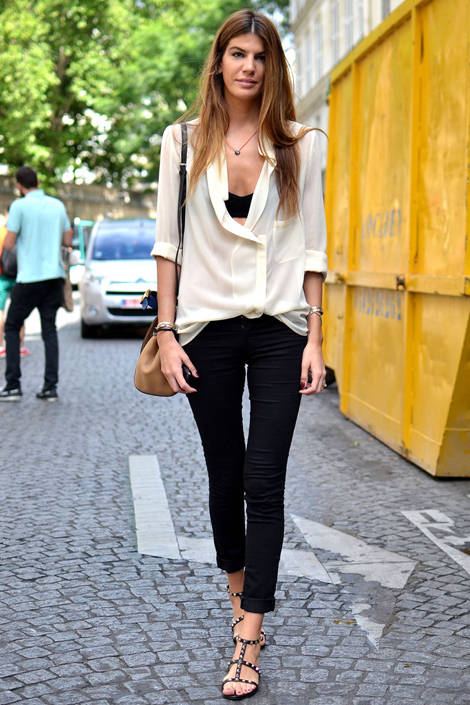 Paris Street Fashion Summer Street Fashion In Paris